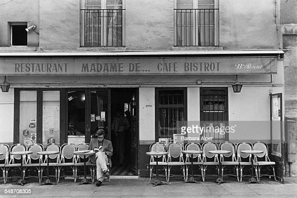 The Restaurant Madame De Cafe Bistrot in Paris France May 1991