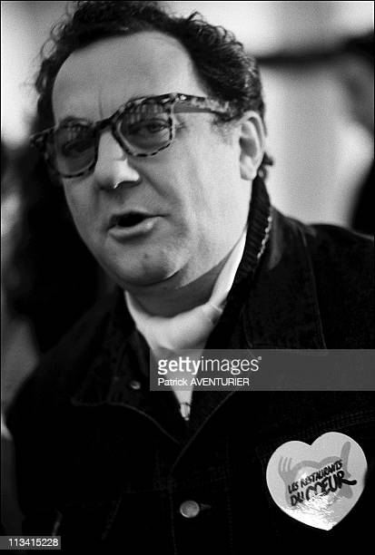 The 'Restos Du Coeur' On January 14Th 1986 In Paris France Here Nb 241583 584 Coluche Opens His 1St Restaurant Du Coeur