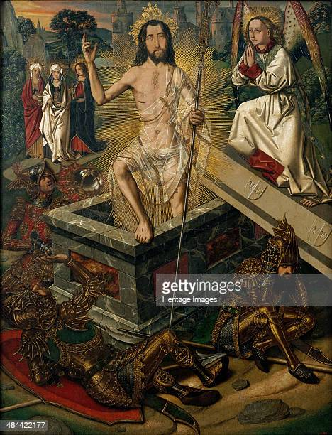 The Resurrection ca 1475 Found in the collection of the Museu Nacional d'Art de Catalunya Barcelona