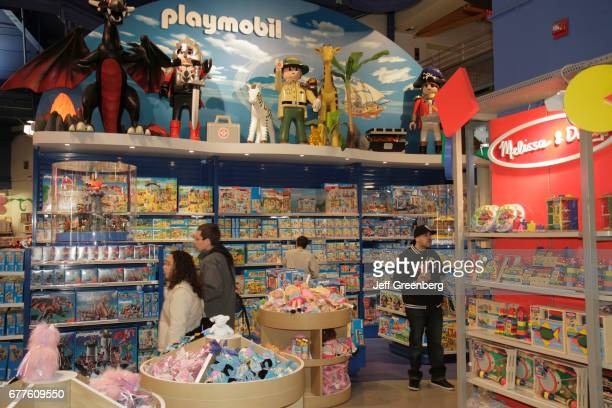 The retail display inside Toys R Us Times Square
