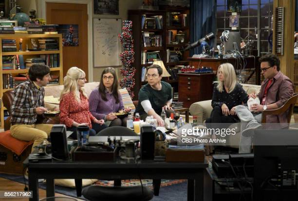 'The Retraction Reaction' Pictured Howard Wolowitz Bernadette Amy Farrah Fowler Sheldon Cooper Penny and Leonard Hofstadter Leonard angers the...