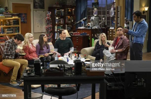 'The Retraction Reaction' Pictured Howard Wolowitz Bernadette Amy Farrah Fowler Sheldon Cooper Penny Leonard Hofstadter and Rajesh Koothrappali...