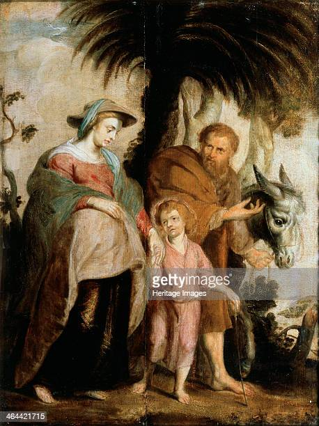 'The Return from Egypt' 1614 Rubens Pieter Paul Found in the collection of the Regional Art Museum Kaluga