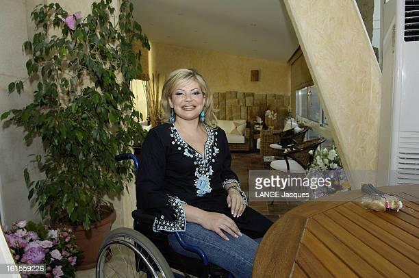 The Return Of May Chidiac In Lebanon Un an après l'attentat qui lui a arraché un bras et une jambe la journaliste vedette de la télévision chrétienne...
