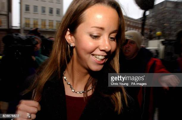 The Rev Joanna Jepson arrives at the High Court in central London to challenge the refusal of police to prosecute doctors who carried out a late...