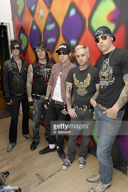 The Rev Synyster Gates Zacky Vengeance Johnny Christ and M Shadows of Avenged Sevenfold