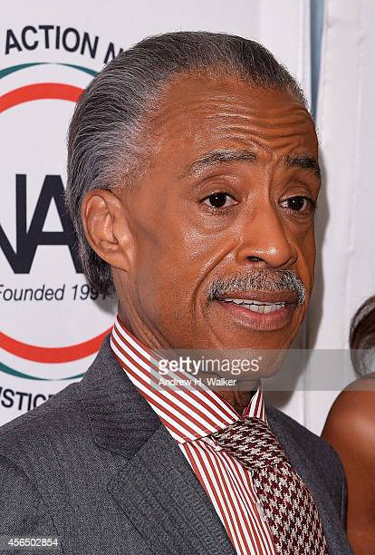 The Reverend Al Sharpton attends his 60th birthday celebration at the Four Seasons Restaurant on October 1 2014 in New York City