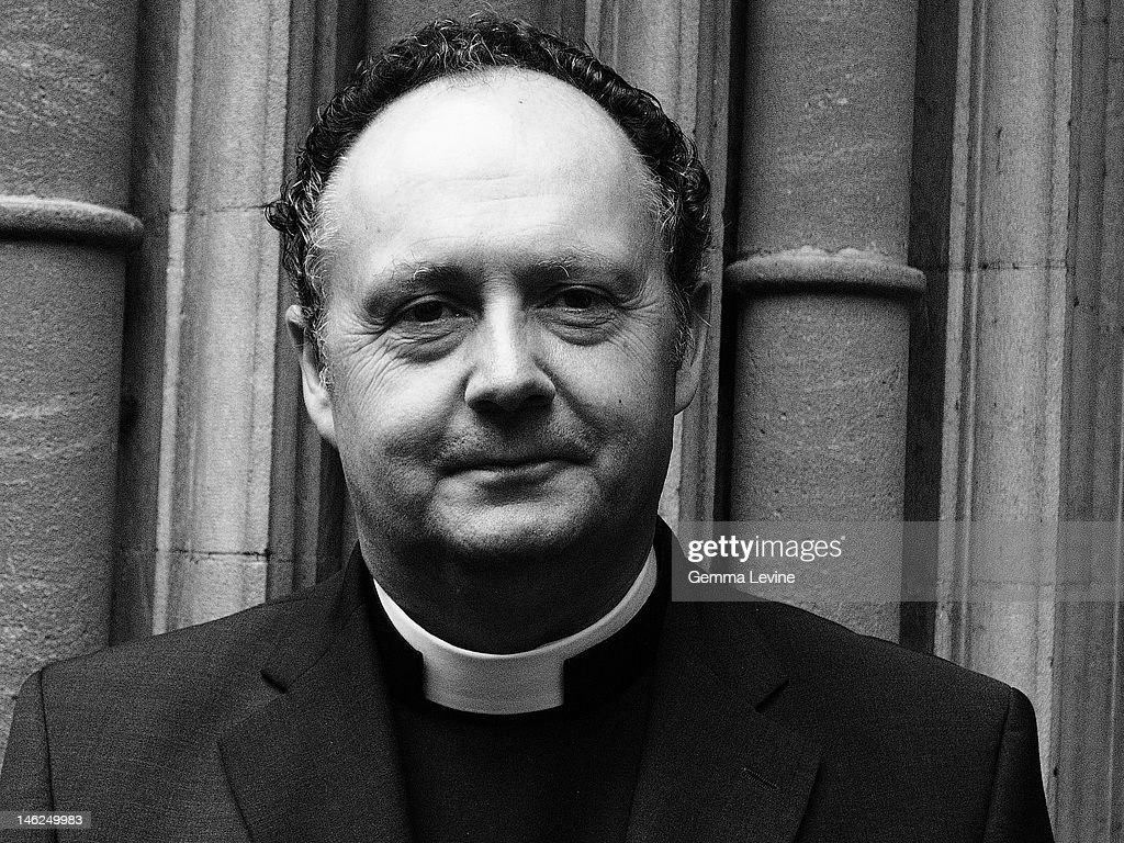 The Reverend Canon Dr James Woodward the Canon at St George's Windsor circa 2010