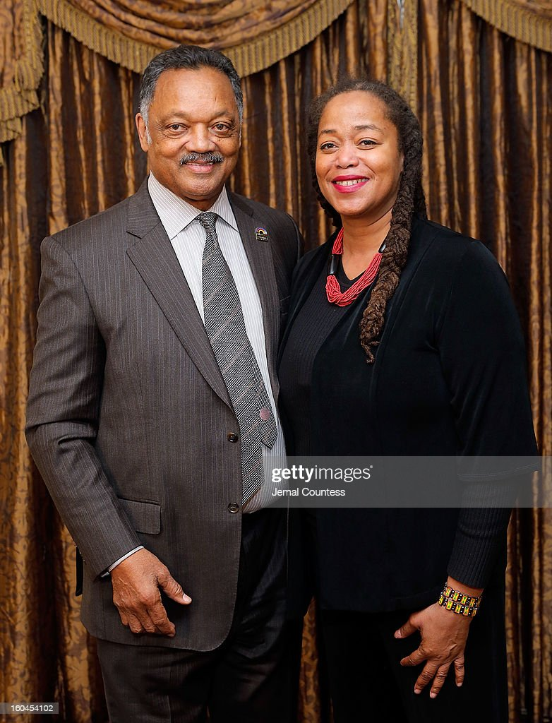 The Reverend Jesse Jackson and Malaak Shabazz attend The 16th Annual Wall Street Project Economic Summit - Day 1 at The Roosevelt Hotel on January 31, 2013 in New York City.