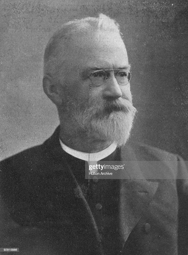 The Reverend Marshall Hartley President of the Methodist Conference 1904 Photograph by Cleare Original Publication The King pub 16th July 1904