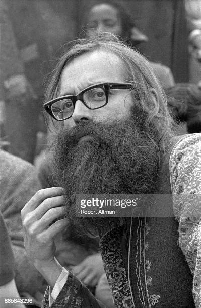 The Reverend Wilbur Leo Minzey of The Shiva Fellowship Church Earth Faire poses for a portrait on April 16 1969 at Golden Gate Park in San Francisco...