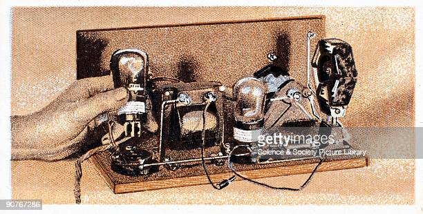 The reverse of the card reads �The valves 2volt Muliard valves are recommended The first is a P M I H F valve This is shown in position The valve...
