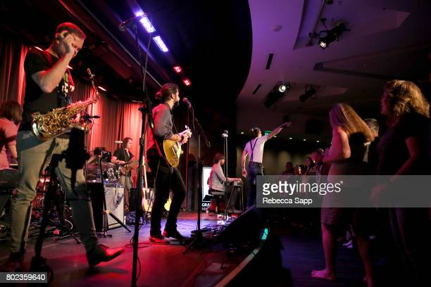 The Revivalists perform at Spotlight The Revivalists at The GRAMMY Museum on June 27 2017 in Los Angeles California