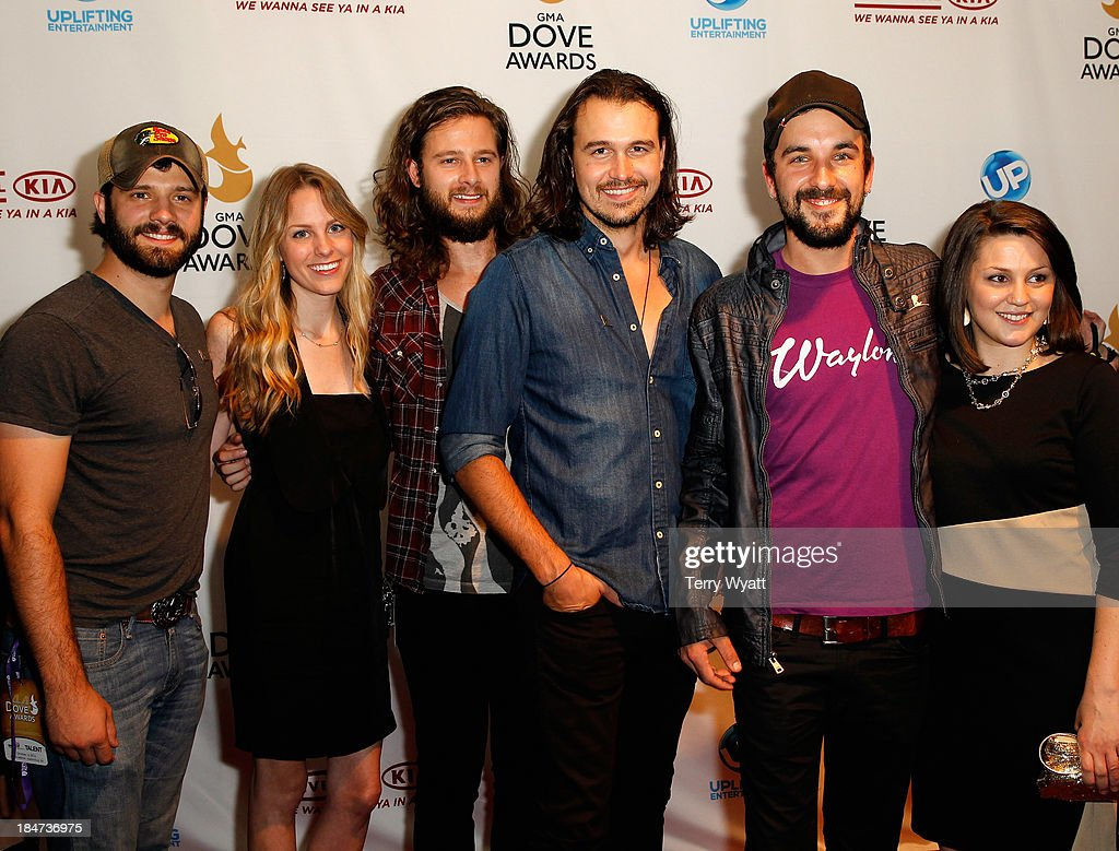The Rhett Walker Band attends the 44th Annual GMA Dove Awards on October 15 2013 in Nashville Tennessee