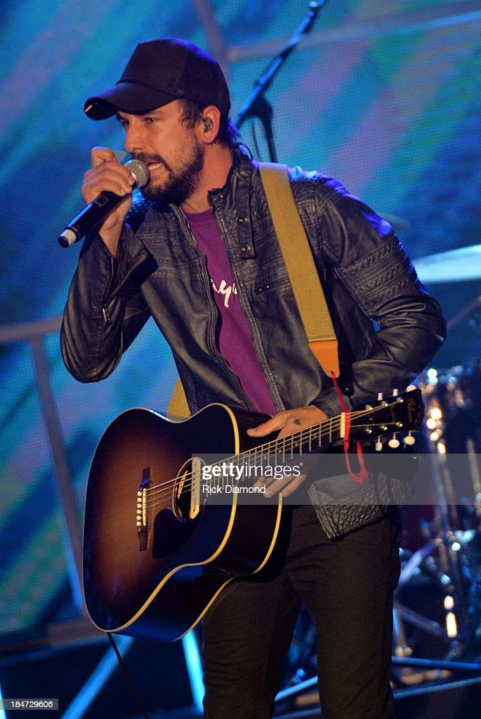 The Rhett Walker Band performs 44th Annual GMA Dove Awards on October 15 2013 in Nashville Tennessee
