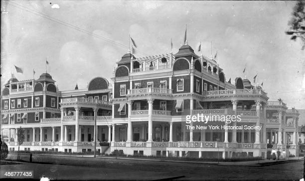 The Riccadonna Hotel on Ocean Parkway and Sea Breeze Avenue Brighton Beach Coney Island Brooklyn New York New York late 1890s or early 1900s