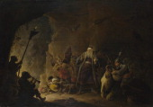 The Rich Man being led to Hell c 16471648 Found in the collection of the National Gallery London