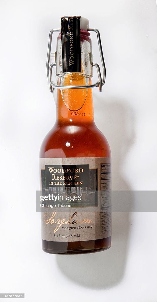 The richly flavored Woodford Reserve Bourbon Sorghum Vinaigrette was created by a chef at the Kentucky distillery, with a slightly sweet (thanks to that molasses-like sorghum) and tangy blend, that gets a bit of a kick from Tabasco and paprika.