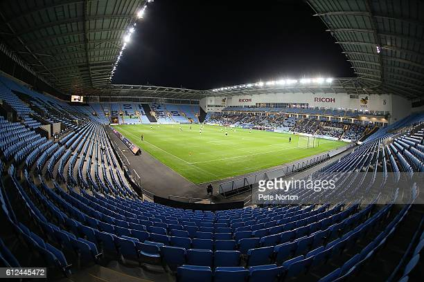 The Ricoh Arena during the EFL Checkatrade Trophy match between Coventry City and Northampton Town at The Ricoh Arena on October 4 2016 in Coventry...