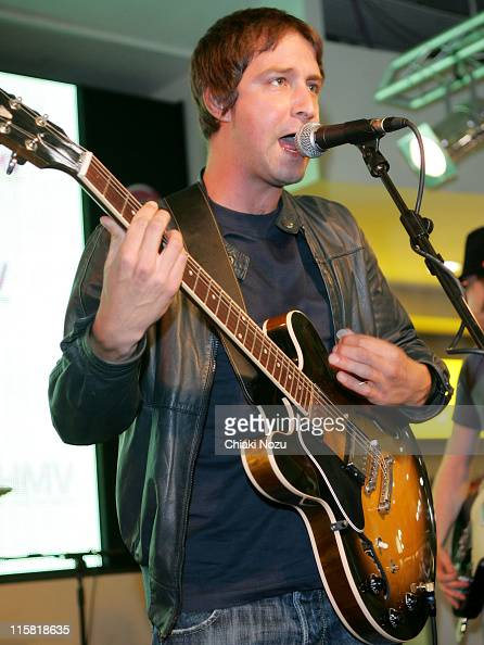 The Rifles during The Rifles Perform Live at HMV Store July 20 2006 at HMV in London Great Britain