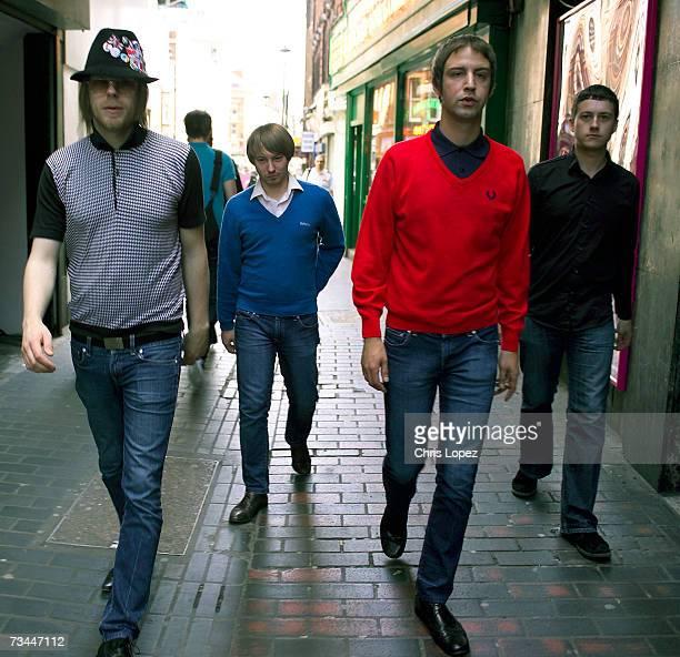 The Rifles walking through Soho London 01/09/05