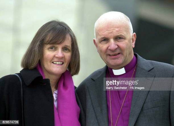 The Right Rev Michael Hill who will become the new Bishop of Bristol the Church of England said with his wife Anthea at the @ Bristol tourist...