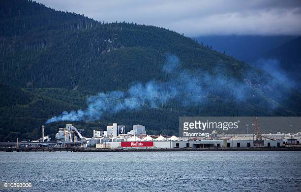 The Rio Tinto Ltd Alcan aluminum smelter stands near the village of Kitimat British Columbia Canada on Monday Aug 22 2016 Facing five major energy...