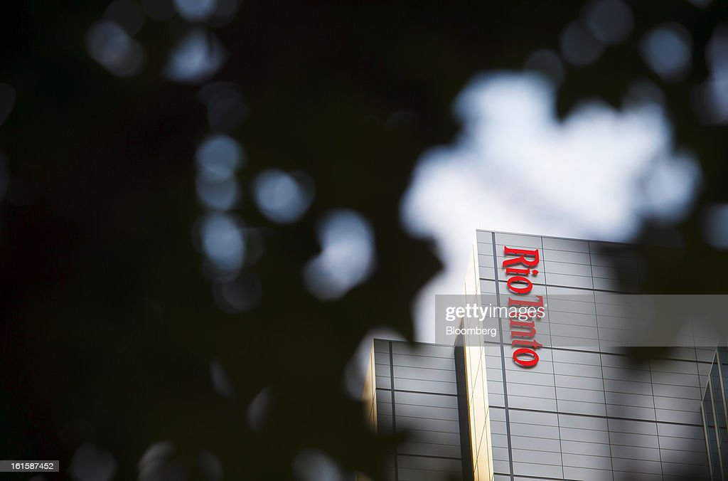 The Rio Tinto Tower, which houses the offices of Rio Tinto Group, stands in Brisbane, Australia, on Tuesday, Feb. 12, 2013. Rio Tinto, the world's second-biggest mining company, is scheduled to announce full-year earnings on Feb. 14. Photographer: Patrick Hamilton/Bloomberg via Getty Images