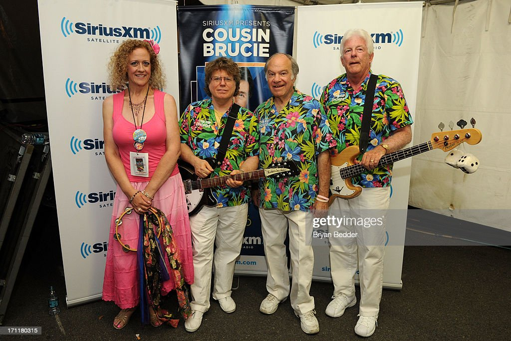 The Rip Chords attend the Cousin Brucie's First Annual Palisades Park Reunion presented by SiriusXM on June 22, 2013 in East Rutherford, New Jersey.