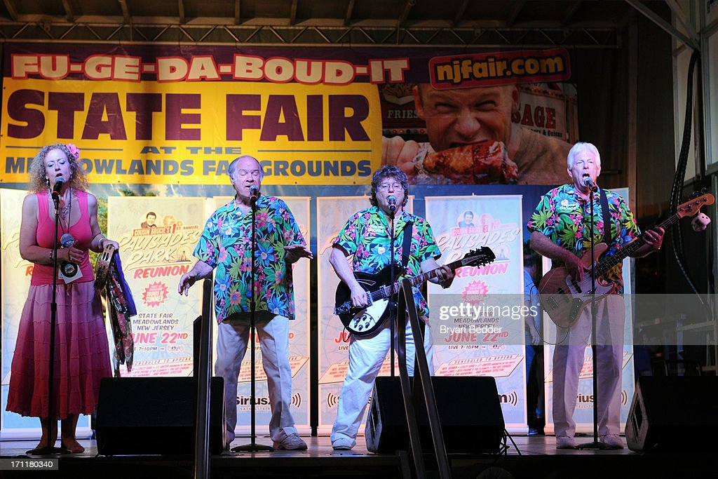 The Rip Chords perform ontage at the Cousin Brucie's First Annual Palisades Park Reunion presented by SiriusXM on June 22, 2013 in East Rutherford, New Jersey.