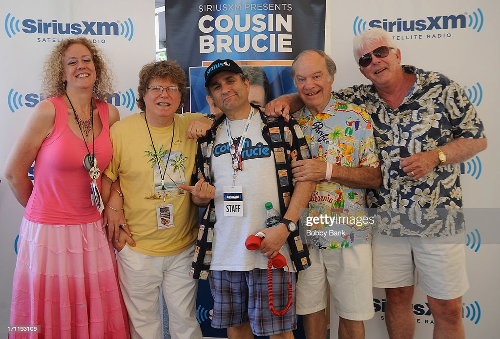 The RipCords and Steve Leeds of SiriusXM attend the Cousin Brucie's First Annual Palisades Park Reunion Presented By SiriusXM at State Fair Meadowlands on June 22, 2013 in East Rutherford, New Jersey.