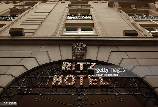 The Ritz Hotel stands on Piccadilly on July 27 2010 in London England Con man Anthony Lee has been found guilty of obtaining money by deception after...