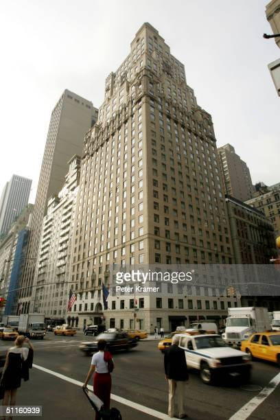 The RitzCarlton Hotel is seen August 11 2004 in New York City