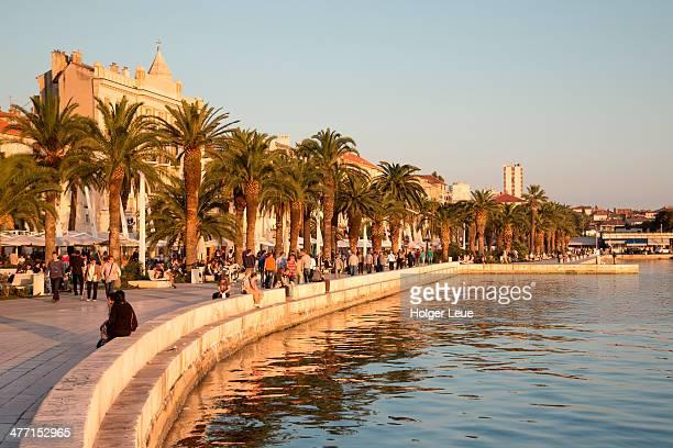 The Riva seafront promenade