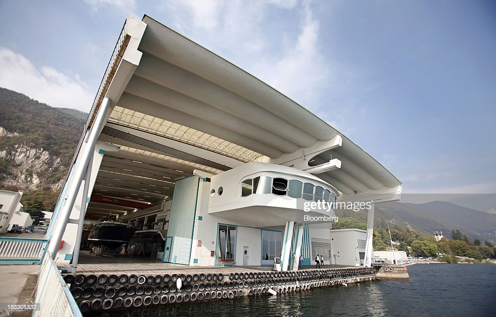 The Riva shipyard stands on the banks of Lake Iseo in Sarnico, Italy, on Tuesday, Oct. 2, 2012. Ferretti Group, whose Riva unit made boats for Brigitte Bardot and Sean Connery, intends to open an assembly plant in China as its new Chinese parent, Shandong Heavy, seeks to drive up sales in the world's most-populous country. Photographer: Alessia Pierdomenico/Bloomberg via Getty Images