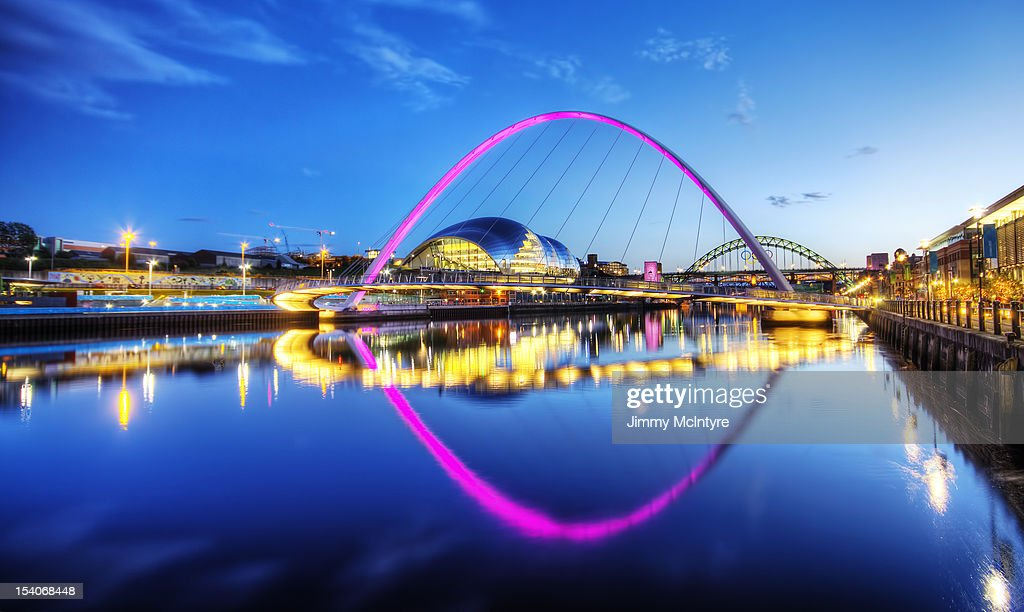 The River Tyne, Newcastle : Stock Photo