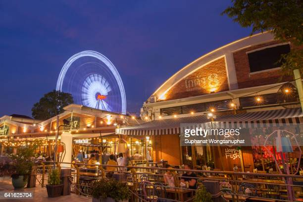 ASIATIQUE The Riverfront Factory. Over 500 fashion boutiques housed in Factory District of Asiatique The Riverfront.
