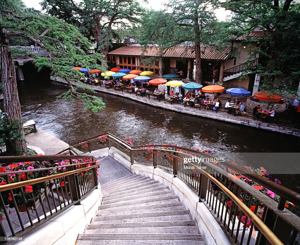The Riverwalk,San Antonio, Texas