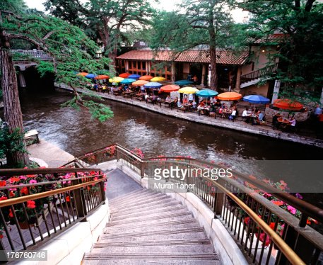 The Riverwalk,San Antonio, Texas