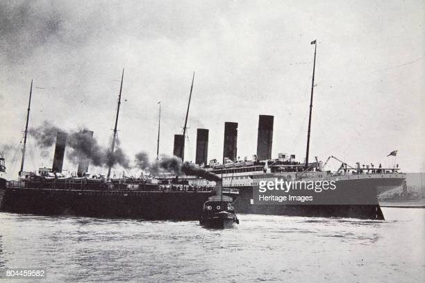 The RMS 'Titanic' leaving Southampton 10 April 1912 Operated by the White Star Line RMS 'Titanic' was the largest and most luxurious ocean liner of...