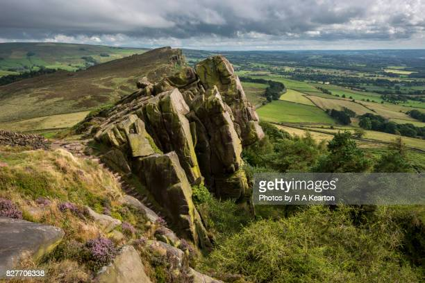 The Roaches and Hen Cloud, Peak District, Staffordshire, England