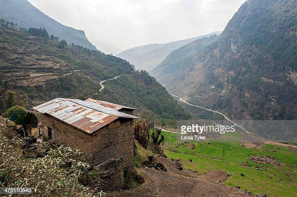 The road into the Tawang Valley a former Tibetan Kingdom that was signed over to British run India by way of the Simla Accord in 1914 It is now a...