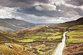 The road known as The Struggle leads to Ambleside.