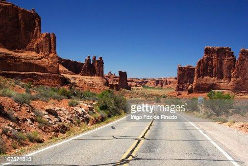 The Road : Foto de stock