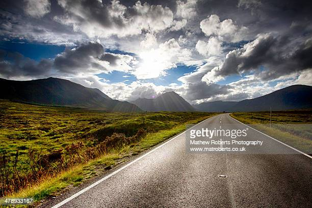The Road to Glencoe - Scotland