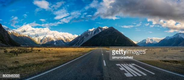 The Road To Mt Cook National Park