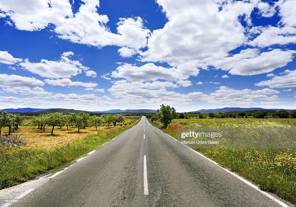 The Road to My Home : Stock Photo
