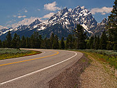 The Road to the Grand Tetons