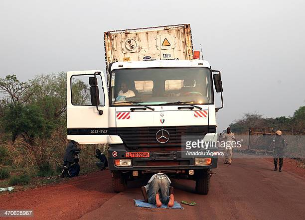 The road under leadership of the Africanled International Support Mission to the Central African Republic is secure for Muslims in Bangui Central...