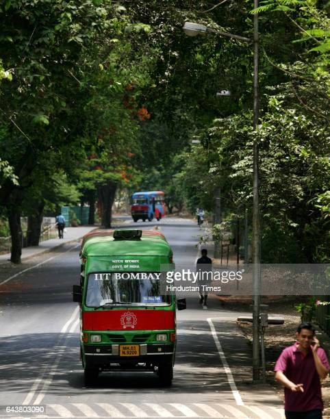 The roads leading to the Indian Institute of Technology Bombays Powai campus make be choking from vehicular pollution but on campus CNG buses help...